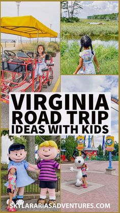 Summer road trip ideas in Virginia with kids for when we can all explore again- Skylar Aria's Adventures Kid Friendly Vacations, Best Family Vacations, Family Vacation Destinations, Family Travel, Vacation Ideas, Road Trip With Kids, Family Road Trips, Travel With Kids, Day Trips In Virginia