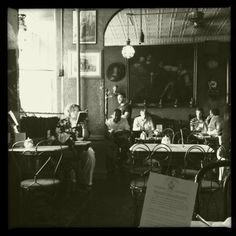 Caffe Reggio in Manhattan, one of my top favorite cafes. My dad used to go here as a teenager!