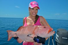 Cristy caught this coral trout at the Bligh Reef in far north Queensland, Australia, on a lure. Sometimes called a coral grouper, the leopar...