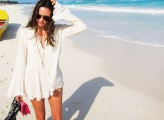 Perfect tunic for the beach #summer #outfit