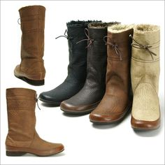 Rakuten: Mouton middle boots with ribbon pretty quietly- Shopping Japanese products from Japan