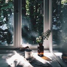 ღღ Ana Rosa, grace–upon–grace: Saskia Bauermeister Window View, Open Window, Through The Window, Morning Light, Light And Shadow, Interior And Exterior, Photos, Pictures, Photographs