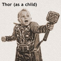Vidar - the Norse God of Silence - has a very healthy response to his brother Thor's sex change.