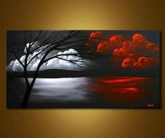 Decorative paintings of landscape, abstract, seascape and cityscape art by Osnat. - Decorative paintings of landscape, abstract, seascape and cityscape art by Osnat Tzadok. View more - Canvas Painting Landscape, Landscape Art, Canvas Painting Designs, Painting Canvas, Cityscape Art, Art Abstrait, Fine Art, Acrylic Art, Painting Inspiration