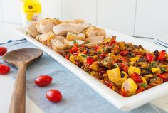 Ahhh, summer produce, we can't quit you. Here's a classicway to cook up a boatload of the stuff—ratatouille! From now on, you'll think of this amazing combinat