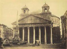 1852/53 Cuccioni Tommaso . Pantheon- vista frontale .