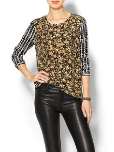 Mix Print Blouse Product Image