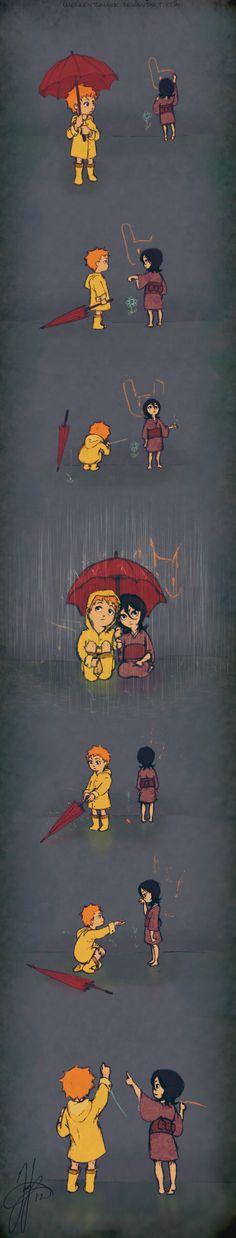 Little Drops of Rain by luculentquark.deviantart.com on @deviantART