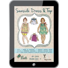 Seaside Dress & Top PDF Pattern