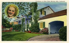 Home of Alice Faye - Beverly Hills, California