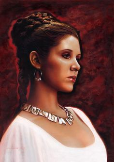 Ceremony Leia - by Jerry Vanderstelt Website | Facebook / Hermosa!! #star wars