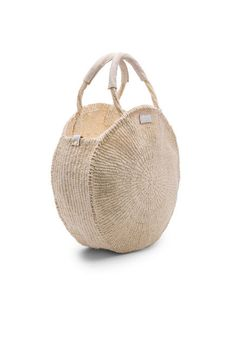 Clare V. Alice Bag in Cream Woven | REVOLVE