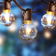 Get these Better Homes & Gardens 110V Clear Glass Globe String Lights (20 Count, 18.7 ft.) for only $9.98 (reg. $12.78) at Walmart. You save 22% off the retail price for these string lights. Plus, this item ships free over $35. Deal may expire soon. Backyard String Lights, Globe String Lights, Backyard Lighting, Hanging Lights, Outdoor Lighting, Bistro Lights, Glass Globe, Better Homes And Gardens, Clear Glass