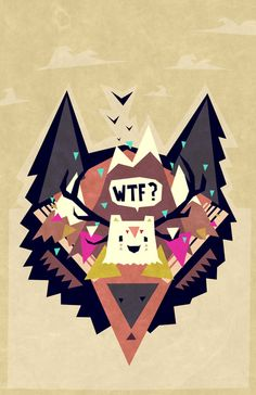 Triangle dream Art Print