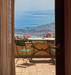 All sizes | Taormina hotel Villa Ducale - Terrace room with sea view | Flickr - Photo Sharing!