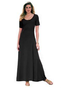 Jessica London Women's Plus Size Petite Maxi Dress Black,12 P Jessica London http://www.amazon.com/dp/B00AQYT5QU/ref=cm_sw_r_pi_dp_yzY1tb1RTMVDDG4W