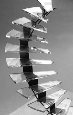 Escalera de caracol #metacrilato, #corteamedida #muchoplastico #comprar