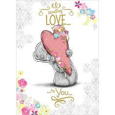 Sending Love Me to You Bear Card £2.69