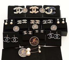 เข็มกลัด,ต่างหู Chanel Accessories Brooch+Earrings ของใหม่พร้อมส่งทุกชิ้น‼️ - Iris Shop