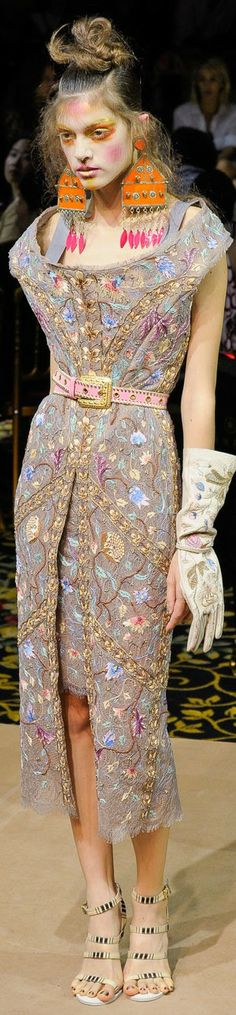 Vivienne Westwood at Paris Fashion Week Spring 2012 | The House of Beccaria