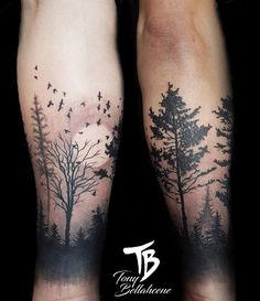 Tree Tattoo – mon tattoo wild, added to our site quickly. hello sunset today we share Tree Tattoo – mon tattoo wild, photos of you among the popular hair designs. Nature Tattoos, Body Art Tattoos, Trendy Tattoos, Tattoos For Guys, Forest Tattoo Sleeve, Nature Tattoo Sleeve, Forrest Tattoo, Natur Tattoo Arm, Tattoo Mond