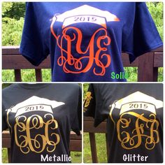 Hey, I found this really awesome Etsy listing at https://www.etsy.com/listing/197813238/monogram-class-of-2015-t-shirt-monogram