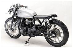 "Steel Bent Custom's '81 Honda CB750 -""Janica"" - Pipeburn - Purveyors of Classic Motorcycles, Cafe Racers & Custom motorbikes"