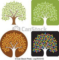 Tree Logo Illustration - csp7615143