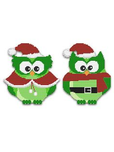 Plastic Canvas - Wall & Door Hanging Patterns - Holiday & Seasonal Patterns - Snow Birds
