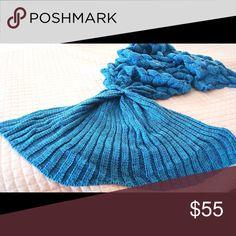 Custom listing for @dmlanshe75 Mediterranean Blue Scale mermaid tail made to 5'8ft Sidekicks Accessories