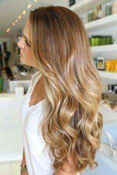 Gorgeous dirty blonde hair