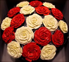 Wedding Cupcake bouquet by Morning Glory Bakes
