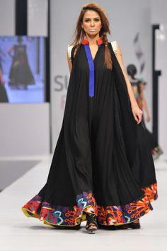 pfdc fashion week karachi Dress by Mohsin ali - African fashion Latest African Fashion Dresses, African Print Dresses, African Print Fashion, African Dress, Asian Fashion, Abaya Fashion, Boho Fashion, Chic Outfits, Fashion Outfits