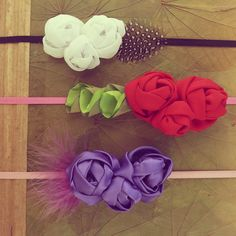 Fabric Headband Pattern | Roses Fabric Flowers Tutorial Headband Pattern - PDF - boho hair ...