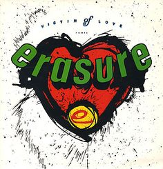 """For Sale - Erasure Victim Of Love UK  12"""" vinyl single (12 inch record / Maxi-single) - See this and 250,000 other rare & vintage vinyl records, singles, LPs & CDs at http://eil.com"""