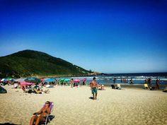 Praia do Rosa, SC, Brasil.