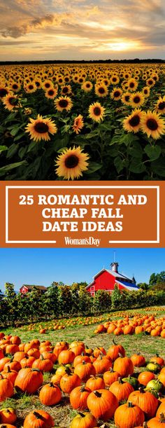It's one of the most scenic times of the year, so get out there and soak it all up with one of these fun and cheap activities and your better half.