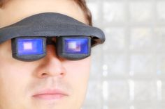 Users can control the display of these data glasses with their eye movements.br /
