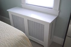 Radiator cover- great idea for my sisters new house