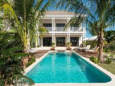 Luxury real estate in Turks and Caicos Islands - Saving Grace - Luxurious Beachfront Villa - JamesEdition