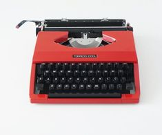 Retro Office, Portable Typewriter, Typeface Font, New Cosmetics, Light Touch, Vintage Typewriters, I Shop, Etsy