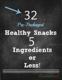 32 Healthy Snacks th
