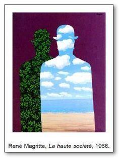 René Magritte La haute société