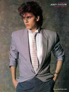 John Taylor from Duran Duran. he was my first love.