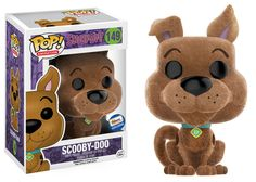 Scooby-Doo: Flocked Scooby-Doo Pop figure by Funko, Gemini Collectibles exclusive