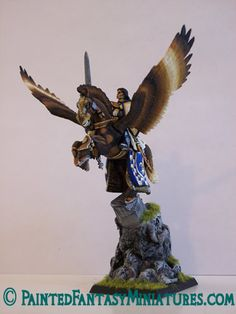 Featured Pegasus Miniature From Painted Fantasy Miniatures