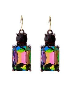 This Aurora Borealis Radiant Drop Earrings With Swarovski® Crystals is perfect! #zulilyfinds