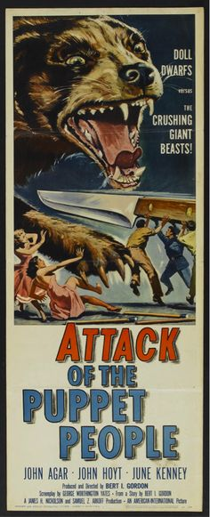 1958. Attack of the Puppet People