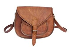 Genuine Leather Crossbody Purse | High On Leather