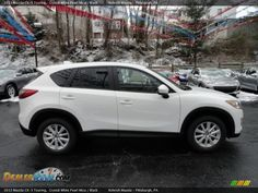 2013 Mazda CX-5 Touring Crystal White Pearl Mica